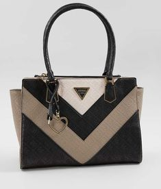 Guess Lyra Society Purse - Women s Accessories in Black Multi  73817d3d58daa