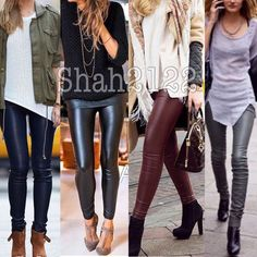 Spotted while shopping on Poshmark: Sexy faux leather high waist leggings Vegan New! #poshmark #fashion #shopping #style #boutique #Pants