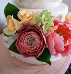 Of Wedding Cakes, Sweets and more...in Ipoh, Perak.: Ranunculus Tutorial