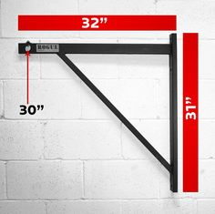 """I love this pull up bar rig, but I don't think Melissa will let me put it on the front of our house....So people roll by and think """"Daaamn, a ninja must live there..."""""""