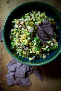 Roasted Corn Salsa recipe on Food52.com