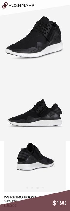separation shoes 93562 058e9 Adidas Y-3 Retro Boost Shoes