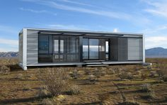 Modern Connect:Homes are the Latest in Affordable, Green Prefab Design Container Architecture, Eco Architecture, Modular Home Floor Plans, House Floor Plans, Small Prefab Homes, Interior Tropical, Modern Modular Homes, Casas Containers, Prefabricated Houses
