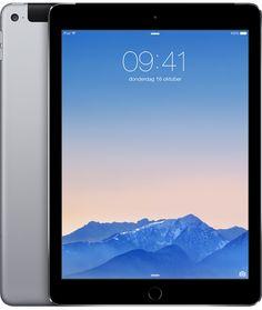 Apple iPad Air 2, Wi-Fi + Cellular, 64GB, spacegrijs