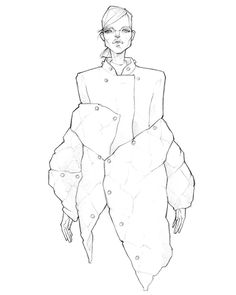 @acnestudios FW 2016 for @solstice_mag Issue 10 Vol. 2, #detail #zejak #milanzejak #illustration #fashionillustration #illustrator #fashionillustrator #magazine #fashionmagazine #solsticemagazine #fashion #coat #acne #acnestudios #jonnyjohansson...