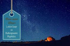 Raar maar waar: Buitengewone Blyplekke in SA! Wie wil nou in 'n gewone hotel of gastehuis gaan bly as jy in 'n huis, paleis, pondok of hok kan bly? Future Travel, South Africa, Beautiful Places, Road Trip, Zimbabwe, Holiday, Blog, Spaces, Africa
