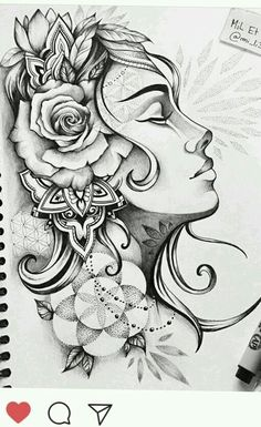 I would so do this tattoo with the one person I so much adore n love ❤ Tattoo Sketches, Tattoo Drawings, Drawing Sketches, Body Art Tattoos, New Tattoos, Sleeve Tattoos, Cool Tattoos, Graffiti Tattoo, Tattoo Gesicht