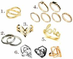 We <3 the midi ring trend!