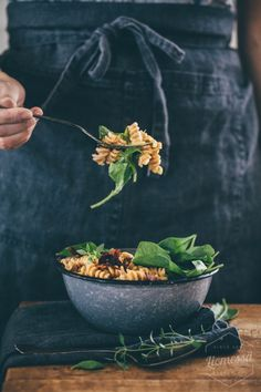 Raw Food Recipes, Healthy Recipes, Healthy Food, Best Food Photography, Fusilli, Salvia, Pasta, Food Styling, Food Inspiration