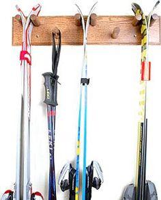 Atomic Snow Ski Rack to hold Snow Skis @americanadirondackchairs ...