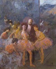 Jean-Louis Forain - Le Foyer A L'opera