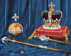 British Crown Jewels, Royal Crown Jewels, Royal Crowns, Royal Tiaras, St Edward's Crown, The Crown, Imperial State Crown, Gold Globe, Queen Mary