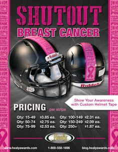 Healy Awards - October is Breast Cancer Awareness Month. Shutout Breast Cancer!