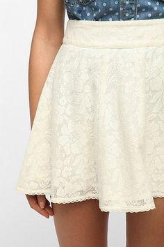 Kimchi Blue Lace Circle Skirt