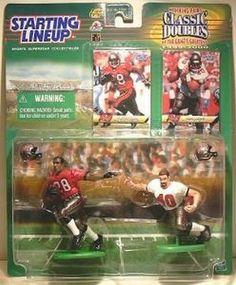 Warrick Dunn & Mike Alsott NFL Tampa Bay Buccaneers Starting Lineup Figures NIB #WarrickDunn #MikeAlsott #TampaBayBuccaneers #NFL #StartingLineup #ActionFigures #MarvelousMarvs