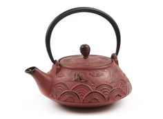 Mountain Rose Herbs: Cast Iron Teapot, Crane