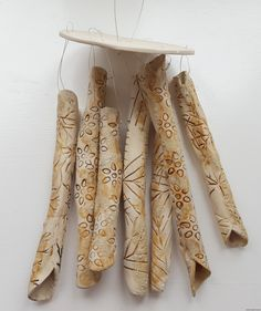Natural Ceramic Wind Chimes