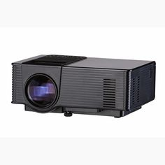 VS314 LED 1500 Lumens 800 x 480 Pixels Projector 1080P AV VGA HDMI USB Connectivity Home Cinema Theater