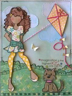 Journal page- Chiara doll ♥ By Daniela Alvarado