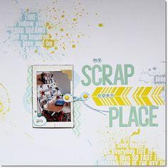 Inspirationsgalerie Layout Werkstatt Multimedialayout mit intregierten Mini von Heidi Walter