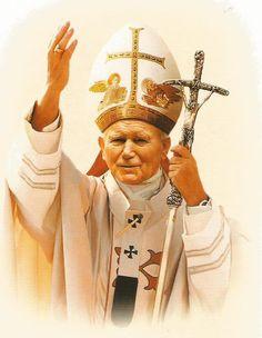 Juan Pablo Ll, Catholic Pictures, Pope John Paul Ii, Roman Catholic, Virgin Mary, Trinidad, Saints, History, San Giovanni