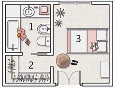 r sultat de recherche d 39 images pour suite parentale avec salle de bain et dressing regg en. Black Bedroom Furniture Sets. Home Design Ideas