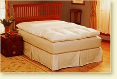 Basic Feather Bed Cover - Pacific Coast Luxury Bedding