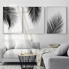 Wall canvas art canvas print waterproof ink perfect solution for small or large spaces home or modern workplace kids room living room welcoming relaxing atmosphere home decor wall art paintings DIY art paintings. - March 16 2019 at Cheap Home Decor, Diy Home Decor, Black And White Leaves, White Leaf, White Trees, Wall Painting Decor, Painting Canvas, Painting Walls, Interior Painting