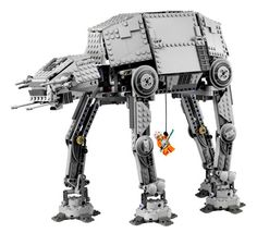 Empire Strikes Backyard: Legos Imperial Walker