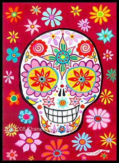 Day of the Dead Art by Thaneeya McArdle