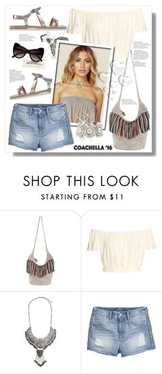 """Pack for Coachella!"" by stranjakivana ❤ liked on Polyvore featuring The Sak, H&M, Valentino, HM, polyvoreeditorial and packforcoachella"