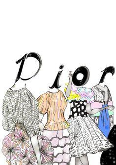 Dior 2011 Illustration