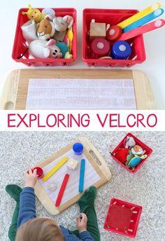 Exploring Velcro Baby & Toddler Play | Mama.Papa.Bubba. #infantsplay