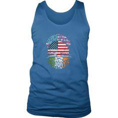 Irish T-shirt - American grown - Irish roots