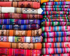 This kind of print is very popular in the Argentina area. It is used for mostly clothes, but bags as well. A lot of people that live in Argentina have at least a couple of shirts that look like this.