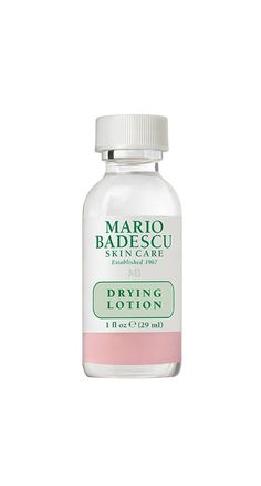This best-selling Mario Badescu Drying Lotion is an amazing combination of calamine, salicylic acid, and other fast-acting skincare ingredients that will get rid of pimples and acne on the spot. Perfect for acne-prone skin and spots. Back Acne Treatment, Spot Treatment, Acne Treatments, Acne And Pimples, Acne Scars, Acne Rosacea, Home Remedies For Hair, Acne Remedies, Beauty Products