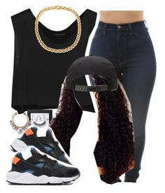"""The Trill Dollz Perormance (My outfit)"" by trillest-queen ❤ liked on Polyvore featuring Kiki de Montparnasse, NARS Cosmetics and NIKE"