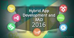 Hybrid App Development Using RAD Tools A Buzzword For Enterprises