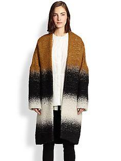 10 Crosby Derek Lam Oversized Belted Alpaca, Mohair & Cotton Coat #coatcheck #fashionvices