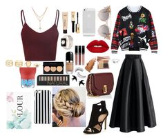 """""""Party rocked"""" by mafecastilloescobar on Polyvore featuring moda, Chicwish, Chicnova Fashion, Marc Jacobs, MICHAEL Michael Kors, Samsung, EF Collection, Forever 21, Trish McEvoy y Bobbi Brown Cosmetics"""