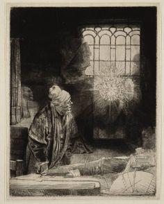 Mijn favoriete Rembrandt in Teylers Museum: Faust (B270)