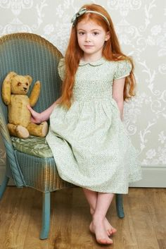Beautiful vintage 'Iris' dress in' Marjolaine' by Lulu and Flo