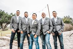"""Groomsmen- can I get an """"Oh Yeah!"""" You are the OGs of this wedding. This is how you do it in Texas. Texas Wedding. Photo by Dempag Photography.  (scheduled via http://www.tailwindapp.com?utm_source=pinterest&utm_medium=twpin)"""