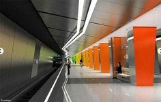 Самые красивые станции Московского метро – сейчас и в будущем (фото)