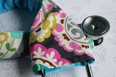 Padded stethoscope cover. #Nurses #NurseBling #Healthcare