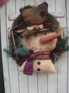 PatternMart.com ::. PatternMart: Snowman Head Wreath
