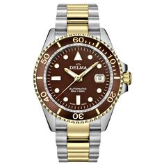 DELMA #52701.690.6.101 (2019 B+P) Luxury Watches, Rolex Watches, Pre Owned Watches, Breitling, Omega, Buy And Sell, Stuff To Buy, Accessories, Fancy Watches
