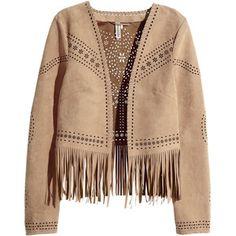 H&M Fringed jacket