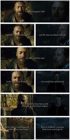 Valjean and Javert