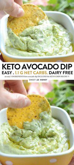 KETO GUACAMOLE Simple Avocado Dip & Keto Paleo & Sweetashoney Source by The post Simple Avocado Dip & Keto Paleo & Sweetashoney appeared first on Zaynah Diet and Fitness. Keto Desserts, Keto Snacks, Healthy Snacks, Healthy Life, Keto Avocado, Avocado Dip, Avacado Snacks, Cooking Avocado, Keto Foods